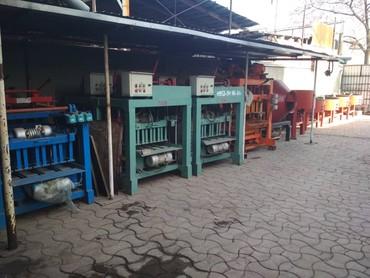 Пескоблочные станки. механическиеи в Бишкек