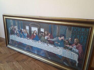 Sako i pantalone - Srbija: Originalni VIlerov goblen TAJNA VEČERA na prodaju! vrhunski