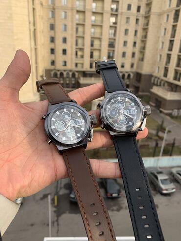 аналоговый джойстик в Кыргызстан: Армейские часы AMST 3003 Водонепроницаемый Аналоговый+цифровой
