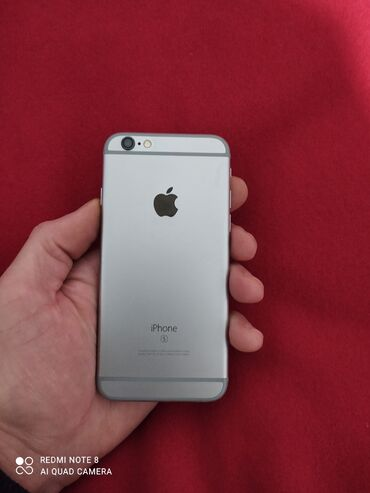 защитное стекло на meizu m6 в Кыргызстан: Б/У iPhone 6s 16 ГБ Серый (Space Gray)