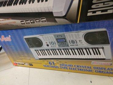 Bakı şəhərində Sintezator mls 9688 Super piano səslənməsi ilə orginal klaviaturali
