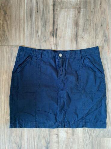 TAKKO plava suknja. Vel L. Fantastičnog materijala