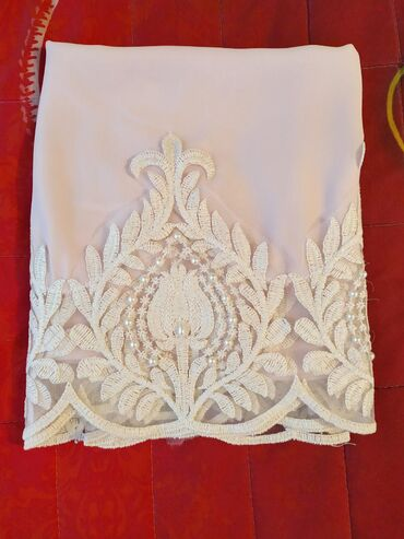 бисера в Кыргызстан: Продаю очень красивый шарф-палантин,нежно розового цвета.Края