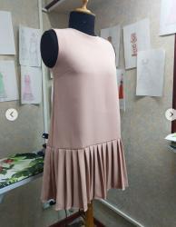 Платья в Кыргызстан: Продается новое коктельное платье, размер хс, сшито на заказ из ткани