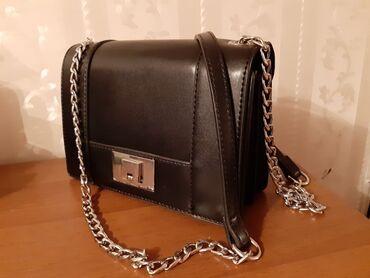 Аксессуары - Бишкек: Продаю фирменную сумку Страдивариус. Эко кожа. Заказывала с сайта. Поч