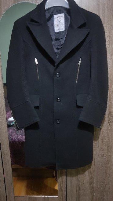 Пальто - Бишкек: Пальто кашемир мужской, фирменный в хорошем состоянии, подойдёт на