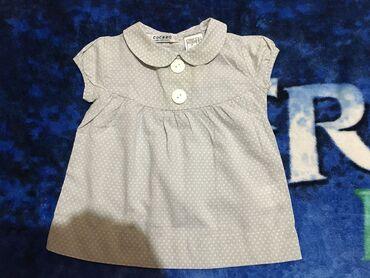 Zenski-tricetvrt - Srbija: Bluza/majica,vel.62 dužina 31cm grudi 23,5cm