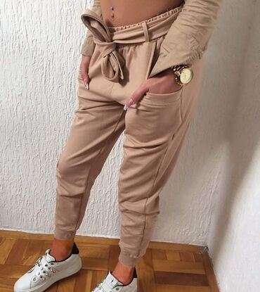 Ženske pantalone - Srbija: Kapucino crna belaKomad 1650 dinara 2 komada 2500 dinara Pamuk