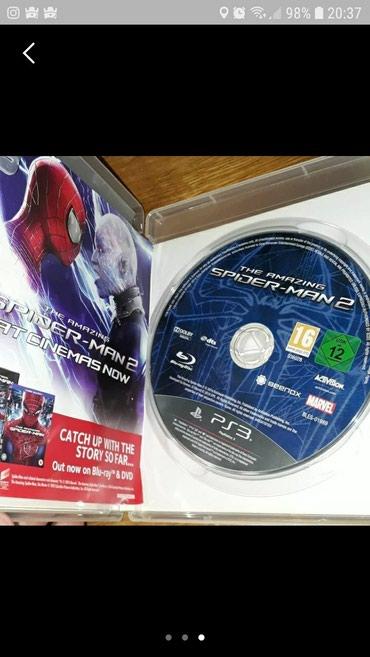 Bakı şəhərində Spiderman diski ps3 yeni kimidi heç.bir problemi yoxdur
