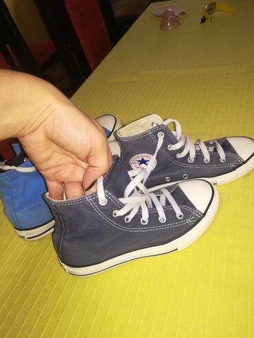 Za decu - Lajkovac: Decije starke. Ove teget original, ove svetlo plave nisu. Ocuvane i