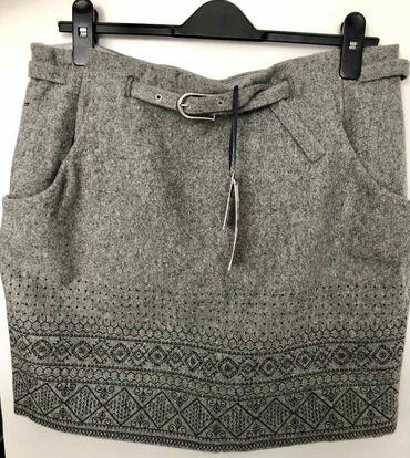 Zenska odeca i obuca - Srbija: Tommy Hilfiger Denim mini suknja, ORIGINAL, Large, NOVO sa etiketom, 1