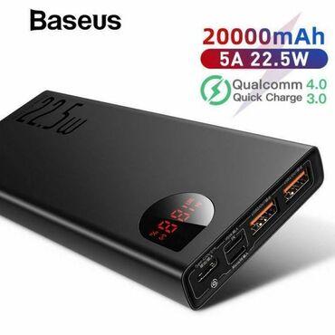 Power bank 20000 mah Original Baseus Firmasindan 20000mah power bank
