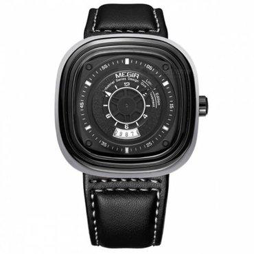 Мужские часы Megir 2027Стильные часы необычного дизайна от в Бишкек