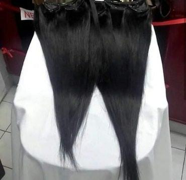 Ostalo | Kovacica: Ponovo dostupna. Prirodna crna kosa na tresi. Dva dvoslojna reda. Moze