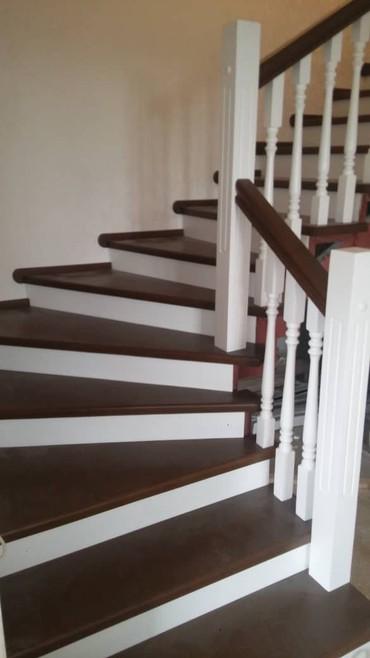 сколько стоит теннисный стол в Кыргызстан: Лестницы | Изготовление | Дуб, Карагачи