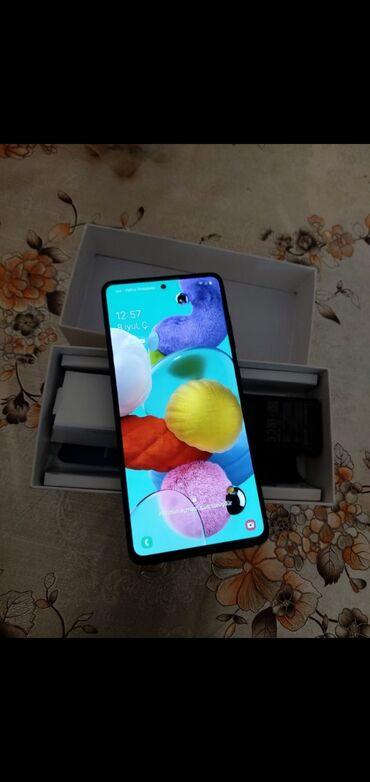 Samsung A 51 2 heftedi hediyye alinib ideal veziyyetdedi tecili pul