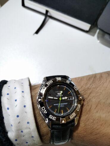 Черные Мужские Наручные часы Seiko