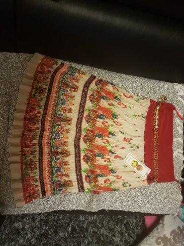 Suknja nova prelepa vel 42 sa etiketom plisirana - Arandjelovac