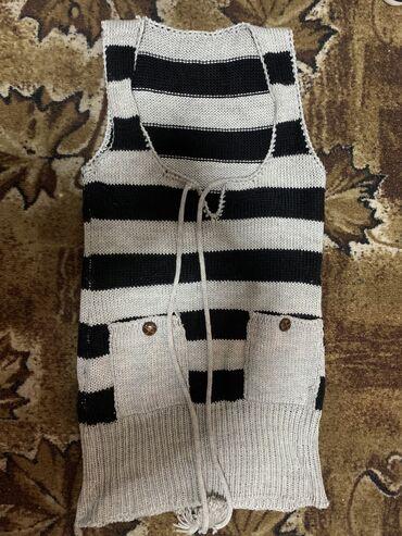 Платье-туника, тёплое