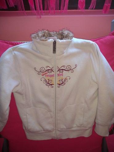 Dečija jakna,idealna za prelazni period,postavljena,veličina 134 - Vrsac