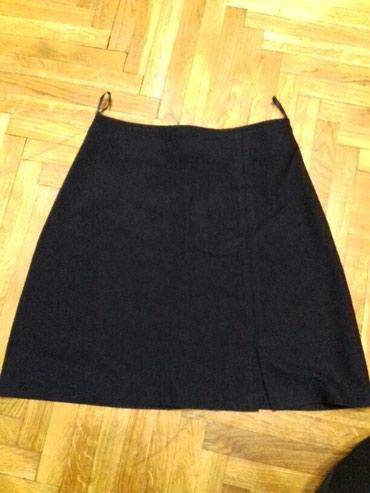 Teget suknja,velicina Xs-S. Visok struk. Sirina struka 32cm,duzina - Belgrade