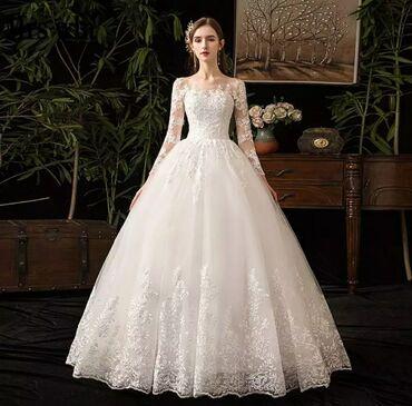свадебные платья хиджаб в Кыргызстан: Свадебные платья Новые на Продажу, фата и подъюбник в подарок. Любое