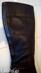 Μπότες μαύρες δερμάτινες Καλογήρου σε Athens