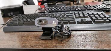 Web camera Logitech HD 720p хорошая  Веб камера фирменная, не Китай
