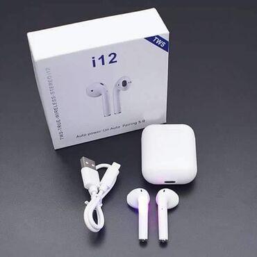 Bluetooth Slušalice i12 Samo 1499 dinara.Porucite odmah u Inbox