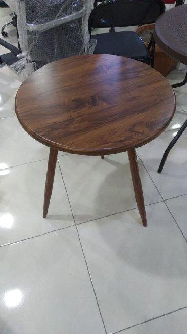 деревянный стол на кухню в Азербайджан: МЕБЕЛЬНЫЙ СТОЛ ДИАМЕТР 60 СМ С ДОСТАВКОЙ В АДРЕС