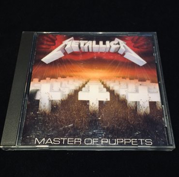 "Metallica, ""Master of Puppets"" του 1986. Το CD είναι σε Thessaloniki"