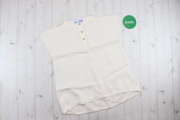 Женская одежда - Украина: Жіноча блуза з коротким рукавом Kamizelka   Матеріал: льон Довжина: 63