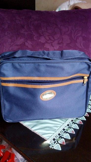 Nova muska torba JEAN DANETY..impregnirano platno,teget boja.. steluju - Kraljevo