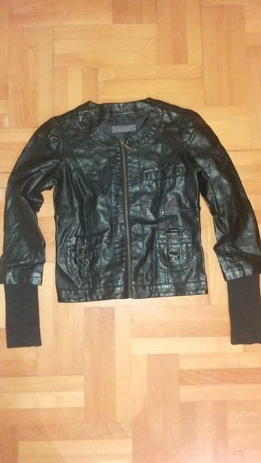 Crna jakna u dobrom stanju bez ostecenja  - Kraljevo