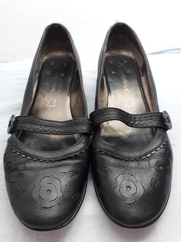 Kozne-flekica-samo - Srbija: Cipele kožne Alpina,broj 40. Treba samo flekica da se zameni