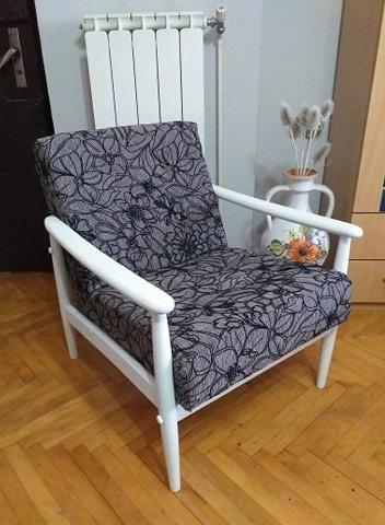 Fotelje | Srbija: Retro fotelje br 7 unikatne I retke za baste, kafice i kuce. Fotelje