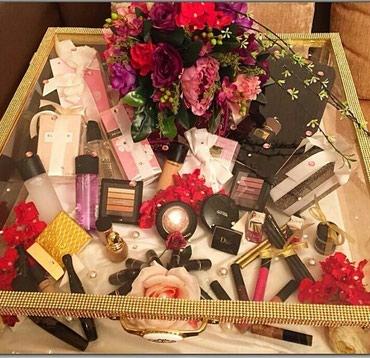 Kosmetika sebeti yigilir firma mallarıyla keyfiyyetli serfeli qiymete