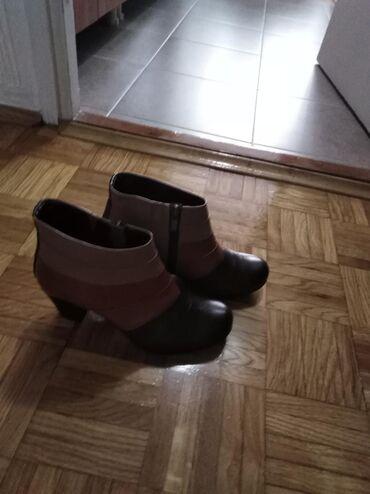 Polu cizma broj ur koza - Srbija: Cipele/polu cizmice, kozneBroj 37, par puta samo nosene, u odlicnom