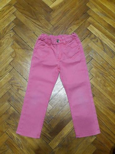 Roze farmerke h&m, 98-104. Za oko 4 godine. Bez ostecenja. Malo - Belgrade