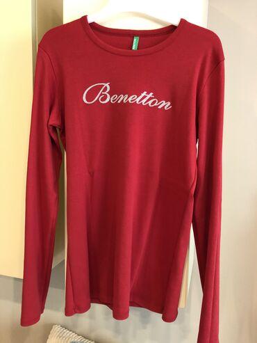 Majica dug - Srbija: BENETTON ženska majica,dug rukav,veličina L,nigde oštećena