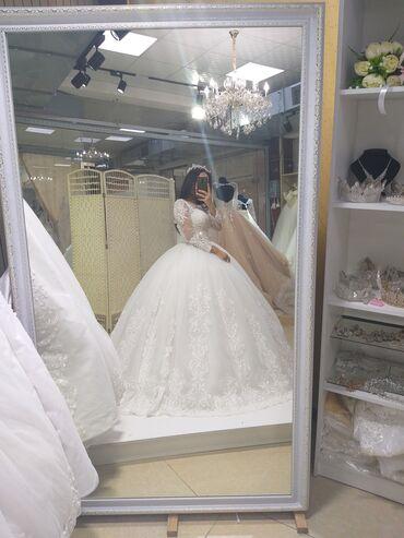 свадебное украшения в Кыргызстан: Продаю свадебное платье )) 42-44 размер )) одевала только сама прошу