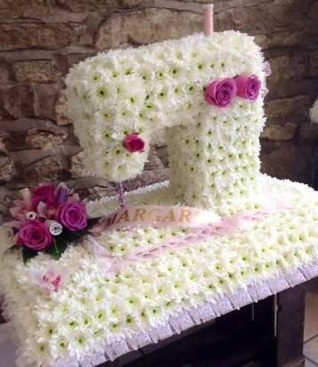-Швейная машина из цветов Заказ по т. в Бишкек