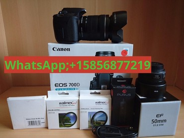 Canon EOS 700D DSLR Camera incl. 18-200 Zoom Lens σε Athens