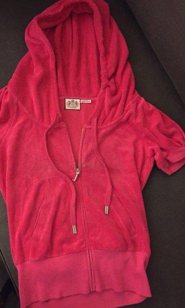 Φούξια βελουτέ , Juicy hoodie . Νο small . Αφόρετο . 35€ σε Rest of Attica