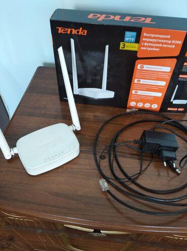 Электроника - Дачное (ГЭС-5): Wi-fi Tenda в отличном состоянии