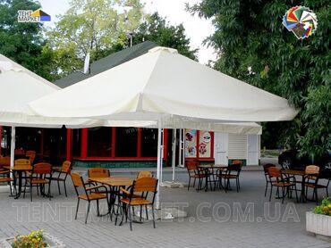 Bağ üçün çətirlər - Azərbaycan: Yay kafeləri, yay barları və restoranları üçün çətir, ölçüsü 4x4 metr