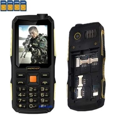 Mobilni telefoni i aksesoari | Arandjelovac: Land Rover – Mobilni telefon za 4 SIM kartice Samo 3.990 dinara. Poru