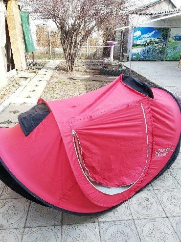 Палатки в Лебединовка: Продам палатку б\у. Яркая- не потеряетесь! Торг уместен