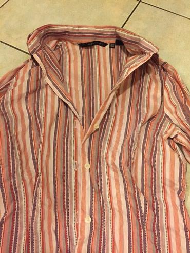 Ριγέ , Βαμβακερό πουκάμισο Ζara woman Νο M. Αφόρετο .  σε Rest of Attica