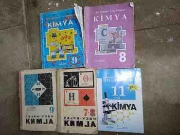 masa kitabı - Azərbaycan: Kimya derslik kitablari  Qiymet kitabdan asilidir